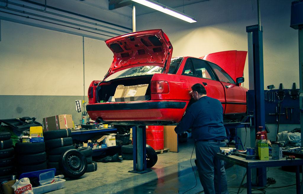 Bremsenwechsel Audi 80